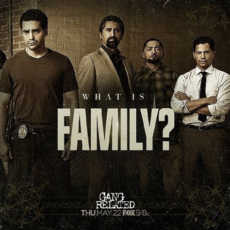 gang related 40 40 hosts private screening of fox s new series gang