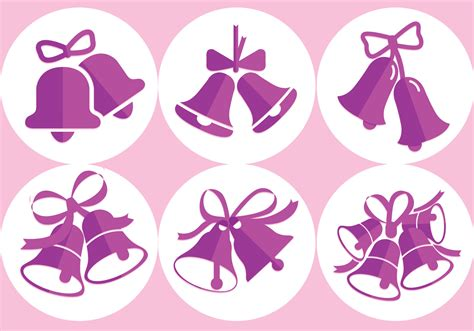 Wedding Bell Vector Free by Wedding Bells Vectors Free Vector Stock