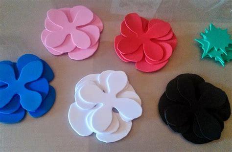 imagenes de rosas en foami rosa de fomi moldes imagui