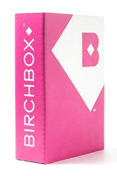 Birchbox Monthly Subscription 10 Dollars A Month A Box