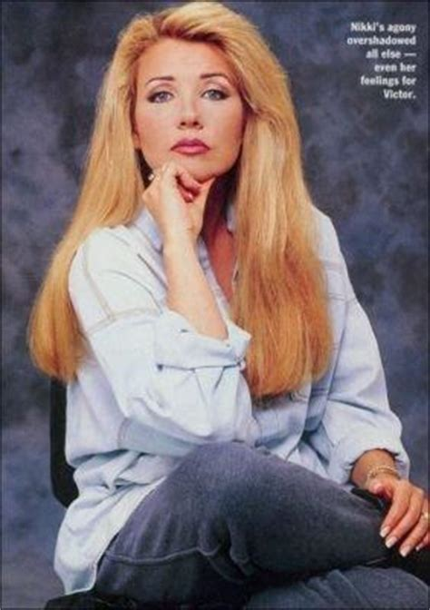 young and the restless nikki newman hairstyles for what s the big deal about nikki newman soap stars