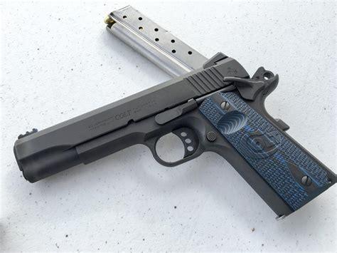 themes ltd real blue handguns colt rises again shooting sports retailer