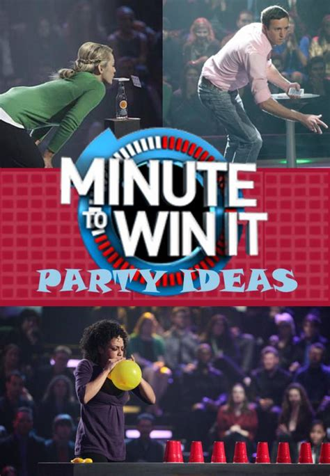 minute to win it challenges minute to win it