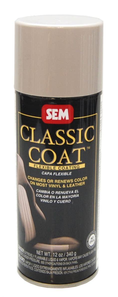 sem classic coat lt taupe vinyl leather spray car paint ebay