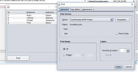 tutorial php com netbeans print data in table using java tutorial in netbeans