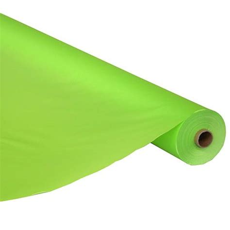 Table Cover Roll by Lime Green Table Cover Roll Shindigz