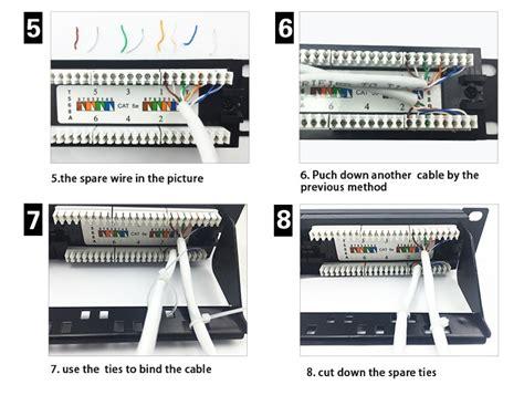 Ly Pp5 15 B 25 Port Utp 19 Inch Cat5e Network Wall Mount