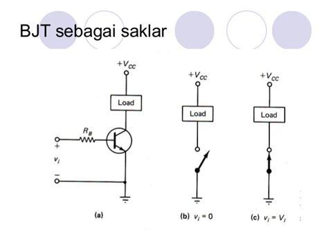 transistor bjt sebagai saklar 28 images elektronika transistor bipolar penggunaan function
