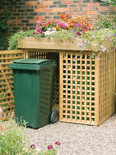 Outdoor Trash Can Shed by Best 25 Garbage Storage Ideas On Garage Air
