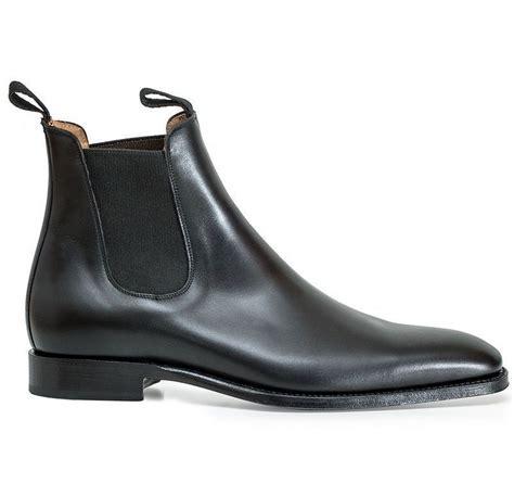 Handmade Mens Clothing - handmade s fashion black chelsea leather boot