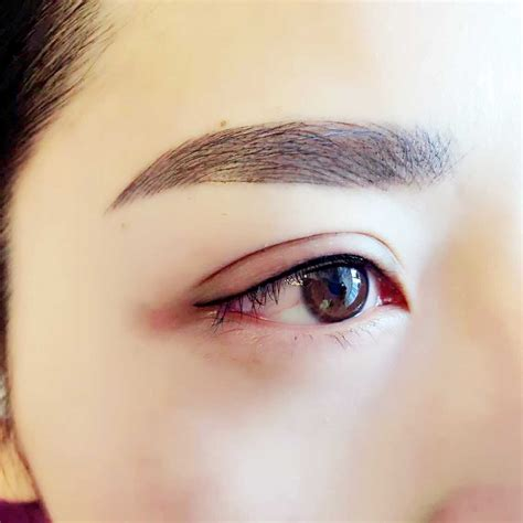 eyebrow tattoo in korea semi permanent house paints kenya modern house