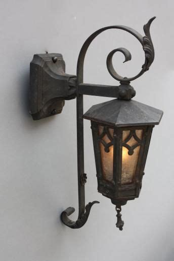 wrought iron exterior lights sold hh 5343 wrought iron exterior lantern antique