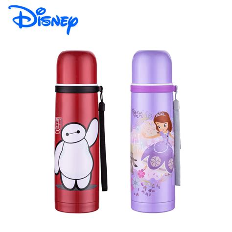 Thermos Disney disney sofia 500ml thermos bottle 304 stainless steel vacuum insulated 12 24 hours vacuum flask