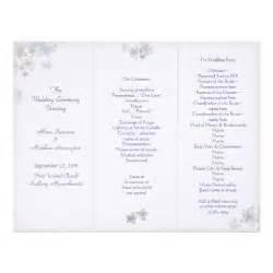 Tri Fold Wedding Program Template lavender tri fold wedding program template letterhead