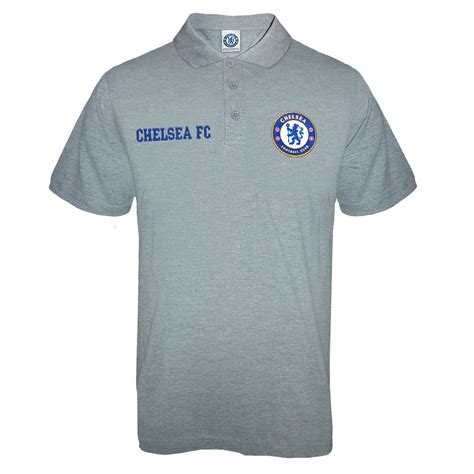 Polo Official Chelsea 007 chelsea fc official football gift mens crest polo shirt ebay