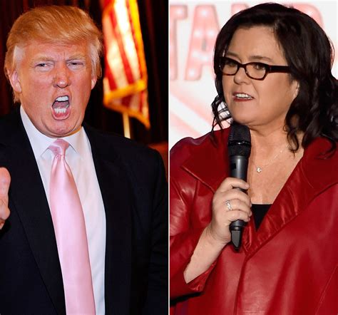 Donald Receives A Pair Of Rosie by Rosie O Donnell Slammed For Suggesting Barron Is