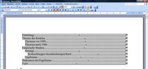 Word Vorlage Zusammenfassung Automatisches Inhaltsverzeichnis Mit Word