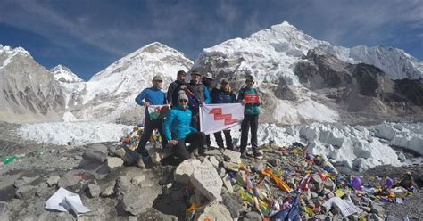 film everest cardiff swansea man is airlifted from everest base c after