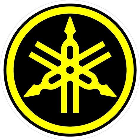 Emblem Stiker Timbul Logo Garputala Yamaha p149 1 6 quot yamaha logo motorcycle drum snowmobile decal sticker yellow black ebay