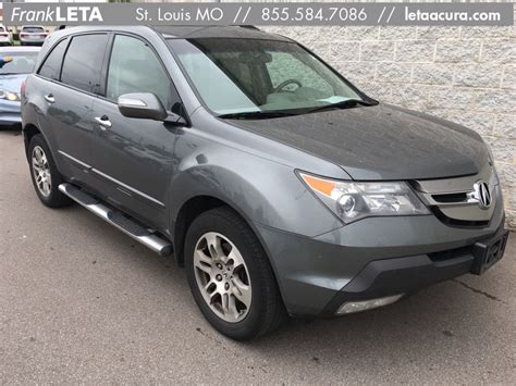 Acura Mdx Pre Owned by Pre Owned 2008 Acura Mdx Technology 4d Sport Utility In St