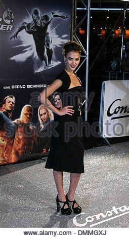 Alba At The Fantastic Four Berlin Premiere by The Silver Surfer Fantastic Four Rise Of The Silver