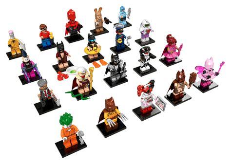 Lego Original Minifigure Batman Series lego the batman minifigures 71017 complete set of