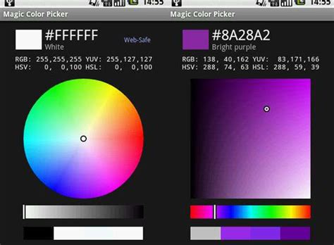 w3c color picker 10 essential android applications for developers