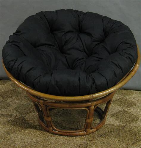 bamboo circle chair cushion papasan rattan chair all about wicker