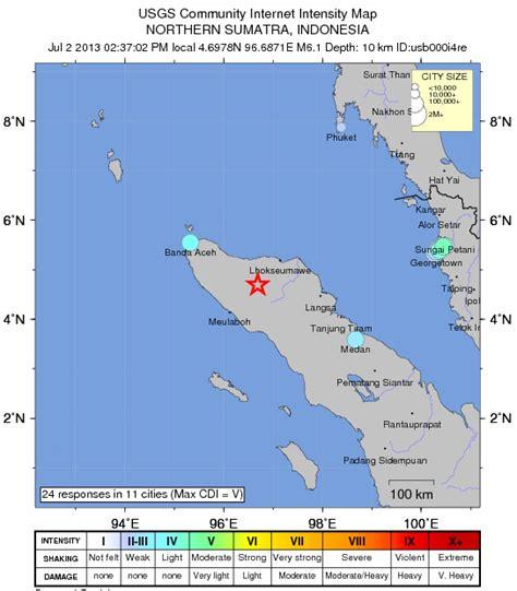 detiknews gempa bumi sf muhammad punca gempa bumi penang 3 37 petang 2 julai 2013