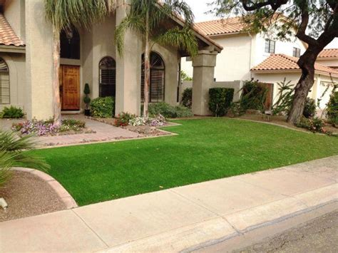 turf front yard artificial grass gallery home project ideas tips