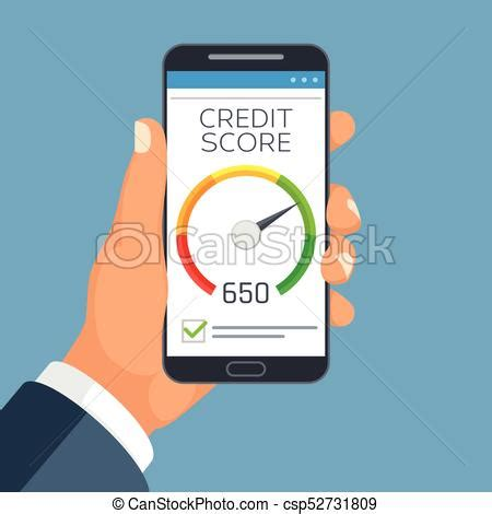 doodle free credit report credit score business report on smartphone screen credit