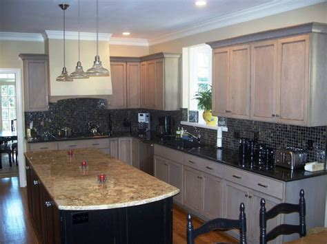 Driftwood Color Kitchen Cabinets Driftwood Gray Traditional Kitchen Wilmington By Shoreline Cabinet Company