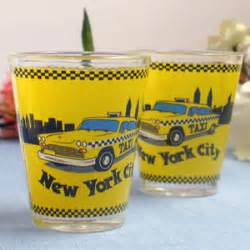 wedding favors new york new york taxi glass favor new york wedding favors
