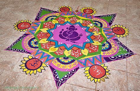 rangoli design for diwali deepawali