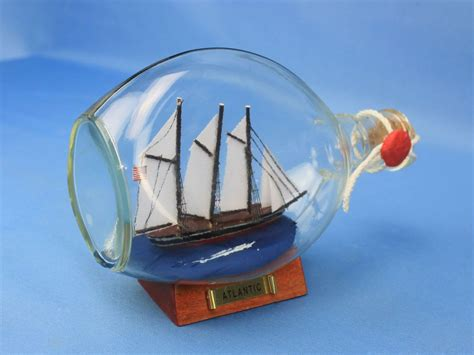 sailboat in a bottle buy atlantic sailboat in a glass bottle 7 inch wholesale
