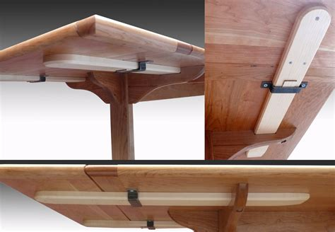 trestle table with leaves shaker cherry trestle table with leaves finewoodworking