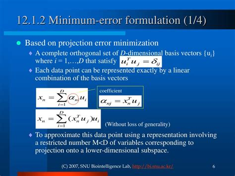 bishop pattern recognition and machine learning ppt ppt ch 12 continuous latent variables pattern