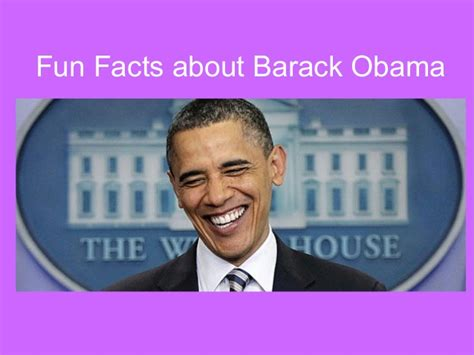 8 Facts About President Obama by Tengowski Viii 1 Obama Bio