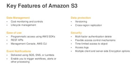 amazon s3 pricing best practices for protecting cloud workloads november