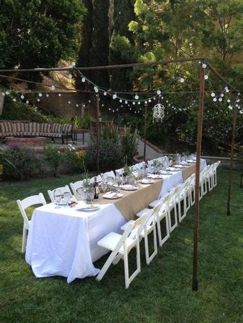 backyard dinner party ideas outdoor tuscan dinner party farm to table pinterest