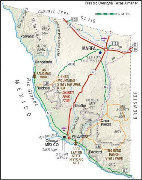 lajitas texas map terlingua on the map familias de terlingua