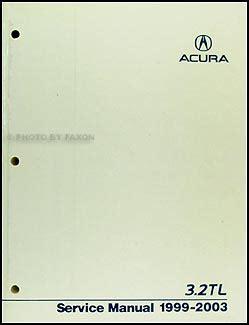 1996 acura 3 2 tl repair shop manual original supplement 3 2tl service book ebay 1999 2003 acura 3 2 tl repair shop manual original