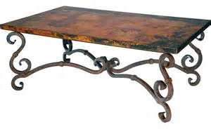 Wrought Iron Coffee Table With Glass And Wooden Round   ChocoAddicts.com   ChocoAddicts.com