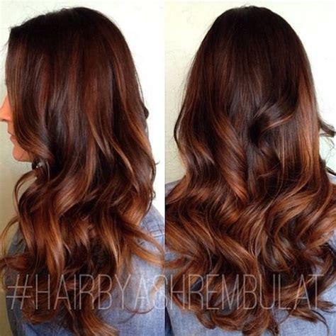 copper brown hair on pinterest color melting hair blonde hair exte ombre hair marron caramel tendance printemps 201 t 233 2016