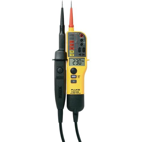 150 meter to fluke fluke t150 vde two pole voltage tester from conrad