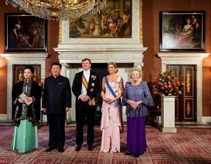 programma koninklijk huis staatsbezoek president china programma nieuwsbericht