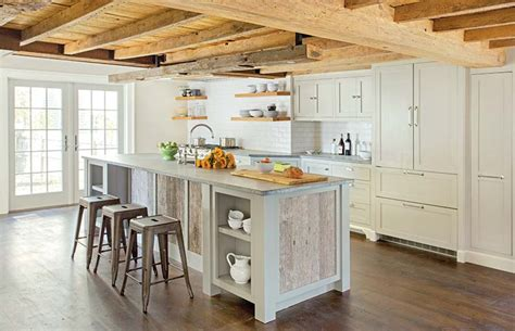 Two Tone Cabinets Kitchen 36 Modern Farmhouse Kitchens That Fuse Two Styles Perfectly