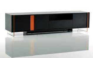 Vision Cabinets Modrest Vision Modern Black Oak Floating Tv Stand