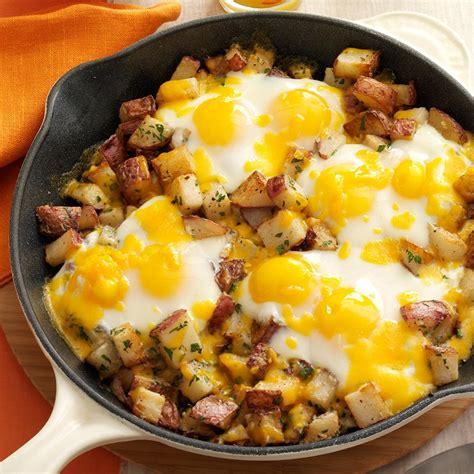egg and potato breakfast recipes