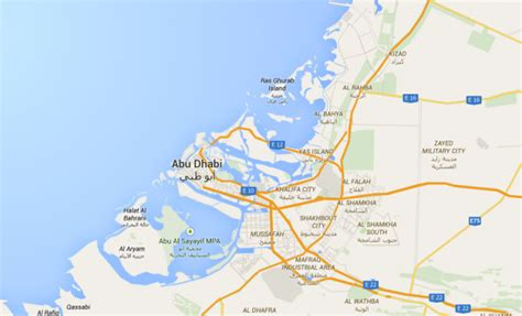 map of abu dabi maps the geographical coordinates of abu dhabi uae